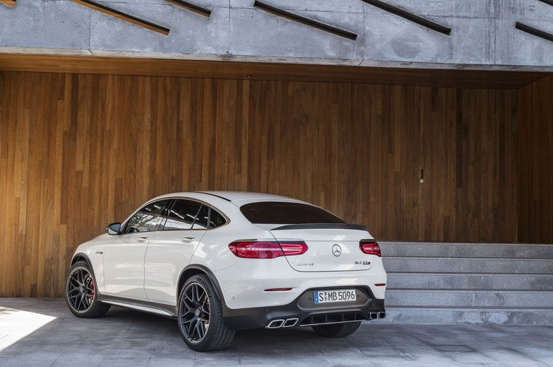 2018 Mercedes-AMG GLC63 Coupe High Resolution Exterior - image 712144