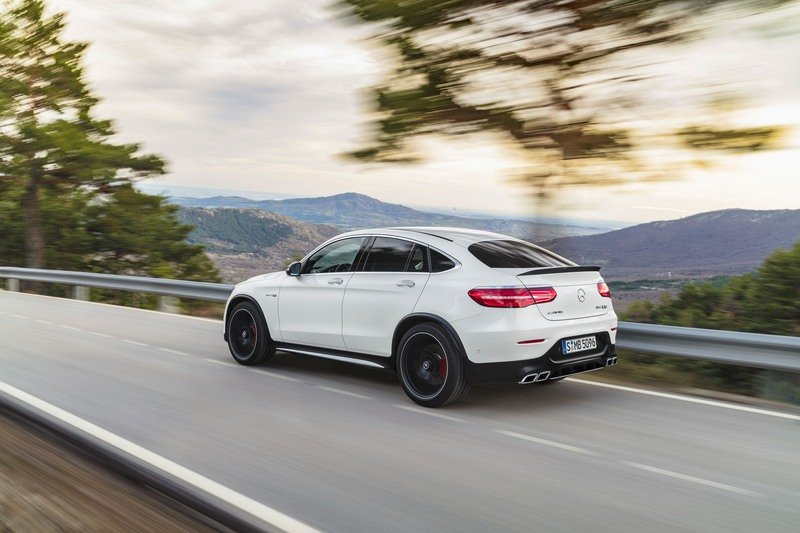 2018 Mercedes-AMG GLC63 Coupe High Resolution Exterior - image 712131