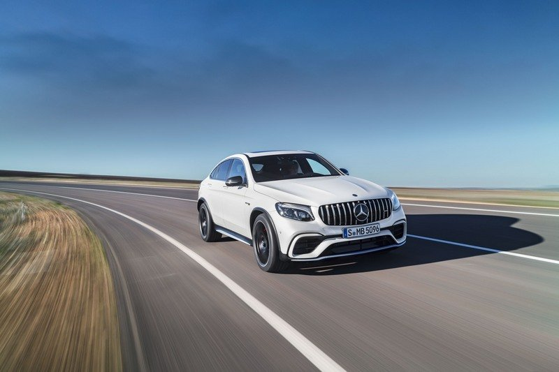 2018 Mercedes-AMG GLC63 Coupe High Resolution Exterior - image 712127