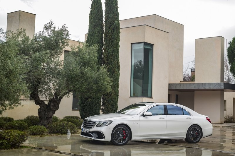 2018 Mercedes-AMG S63 High Resolution Exterior - image 714780