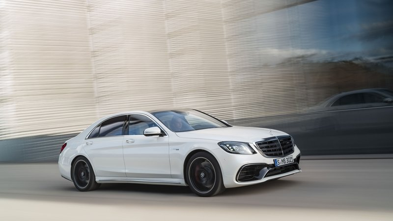 2018 Mercedes-AMG S63 High Resolution Exterior - image 714781
