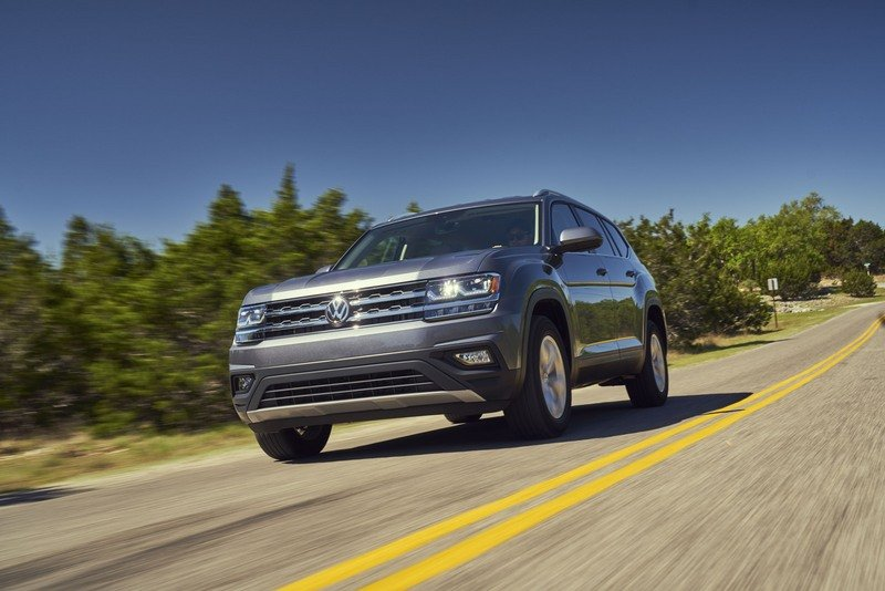 2018 Volkswagen Atlas High Resolution Exterior - image 711920