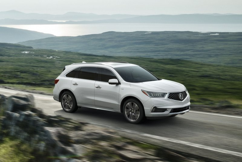 2017 Acura MDX Sport Hybrid High Resolution Exterior - image 711916