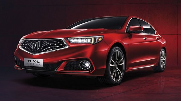 acura takes aim at the chinese market by showing off a prototype of the tlx-l at shanghai - DOC714397