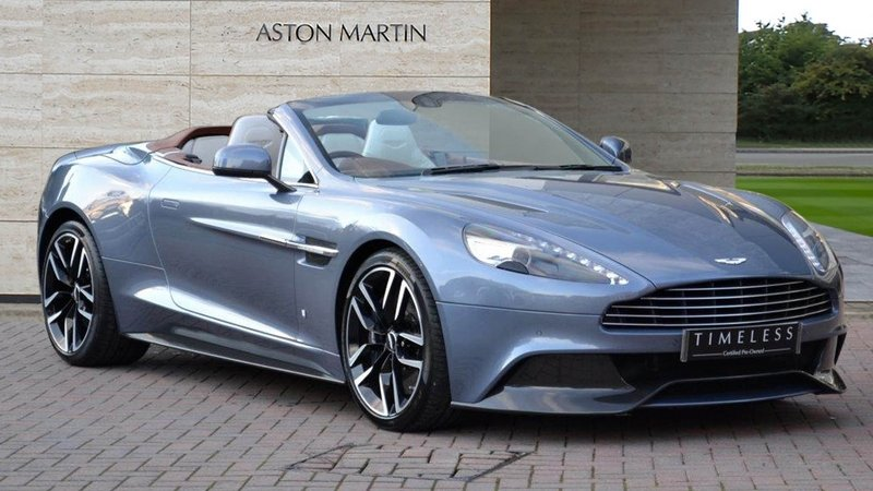 Aston Martin Builds Unique, Yacht-Inspired Vanquish Volante; Costs as much as a Yacht