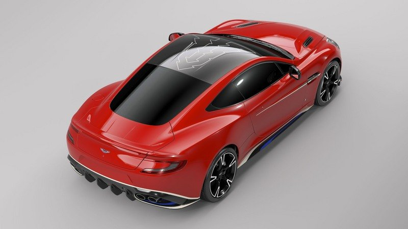 Aston Martin Pays Tribute To RAF's Red Arrows With Bespoke Vanquish S