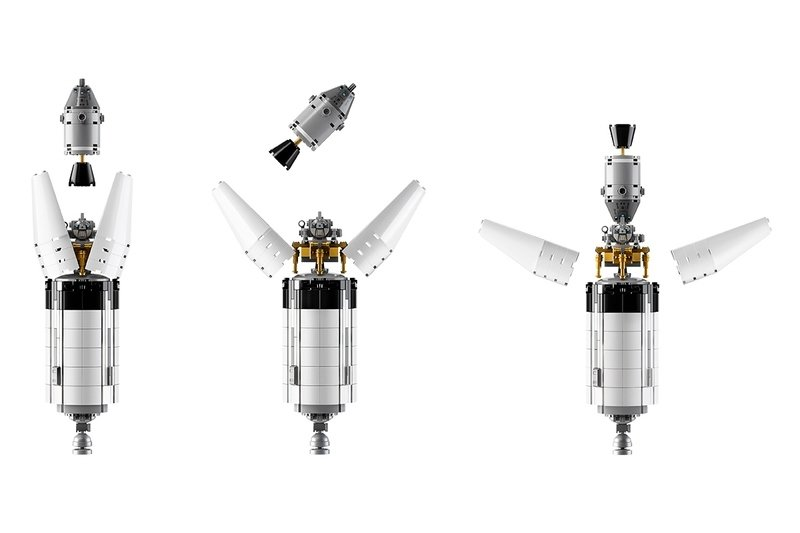 Craving a Trip To the Moon? Take the Edge Off with Lego's Massive NASA Apollo Saturn V Rocket