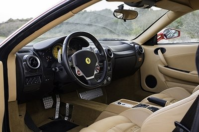 Did Trump's Name and Previous Ownership Condemn this Ferrari F430? Interior - image 711857
