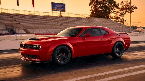 Javits Center Car Show >> Dodge Challenger Demon Breaks Cover Early! News - Top Speed