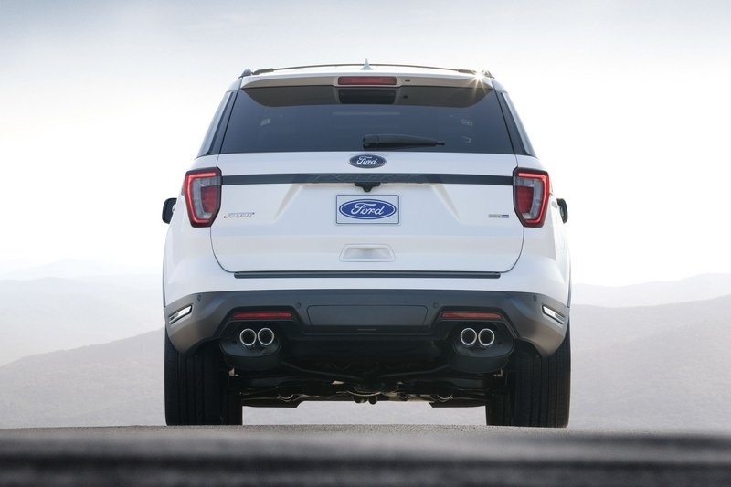 2018 Ford Explorer Sport High Resolution Exterior - image 713505