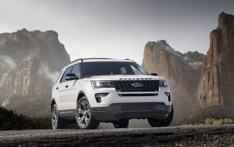 2018 Ford Explorer Sport High Resolution Exterior - image 712539