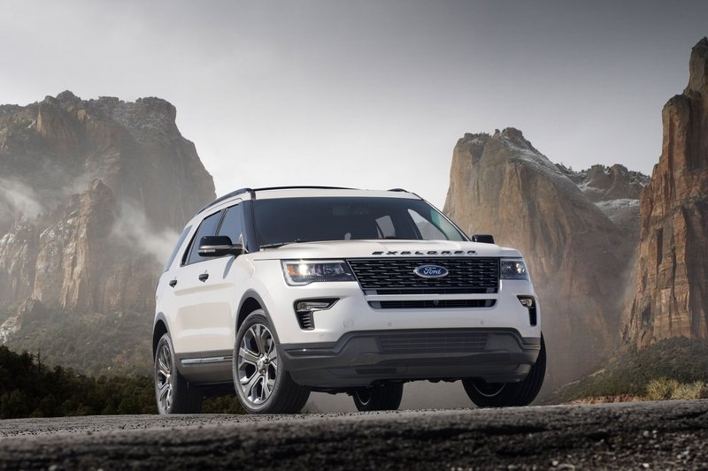 2018 Ford Explorer Sport High Resolution Exterior - image 713503