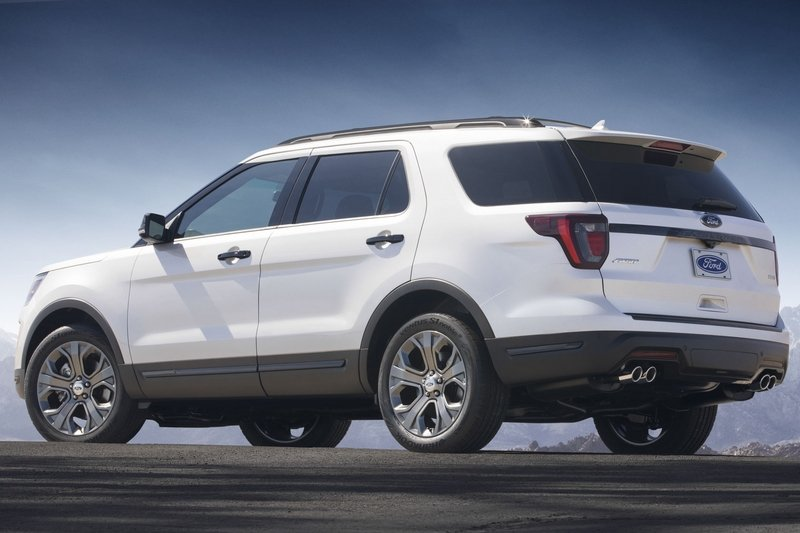2018 Ford Explorer Sport High Resolution Exterior - image 713504