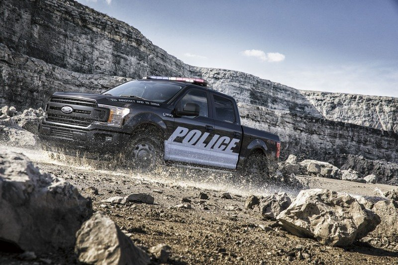 Look Out Perps! Ford Launches Police-Prepped 2018 F-150 & Expedition