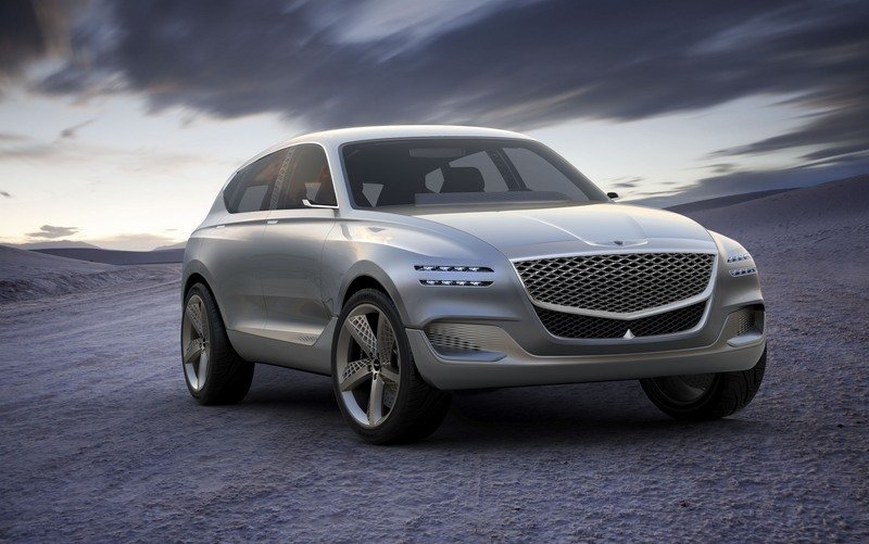 Genesis Steps Up To Take A Swing At SUVs With The Sleek GV80 Concept Exterior Computer Renderings and Photoshop - image 713319