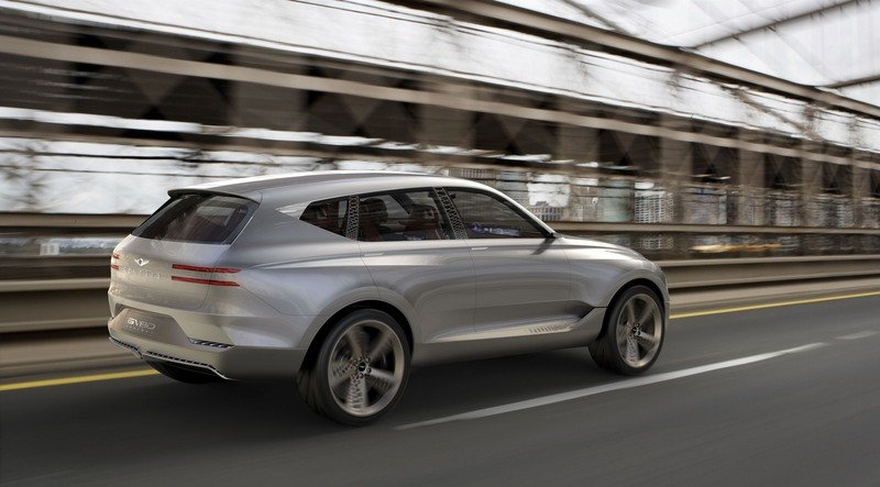 Genesis Steps Up To Take A Swing At SUVs With The Sleek GV80 Concept Exterior Computer Renderings and Photoshop - image 713311
