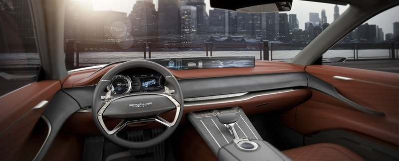 Genesis Steps Up To Take A Swing At SUVs With The Sleek GV80 Concept Interior Computer Renderings and Photoshop - image 713303