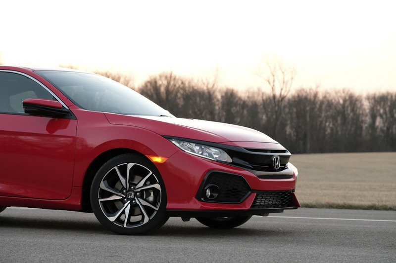 2018 Honda Civic Si Coupe High Resolution Exterior - image 712170