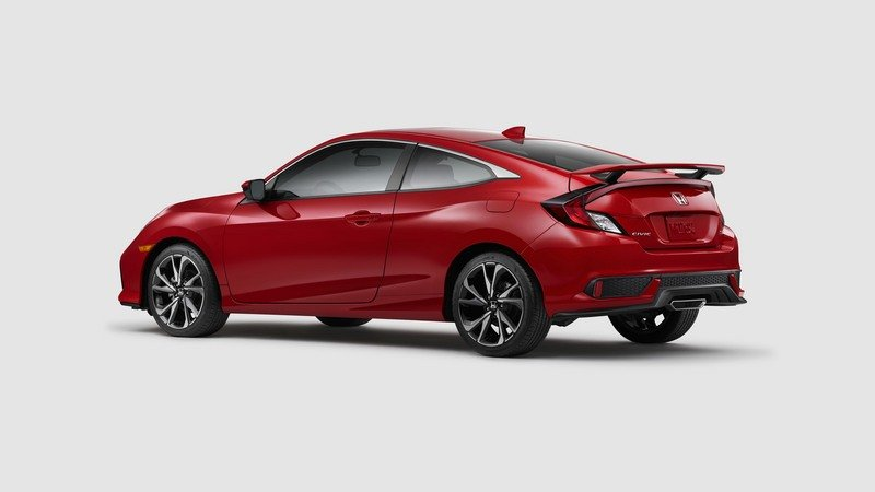 2018 Honda Civic Si Coupe High Resolution Exterior - image 712175