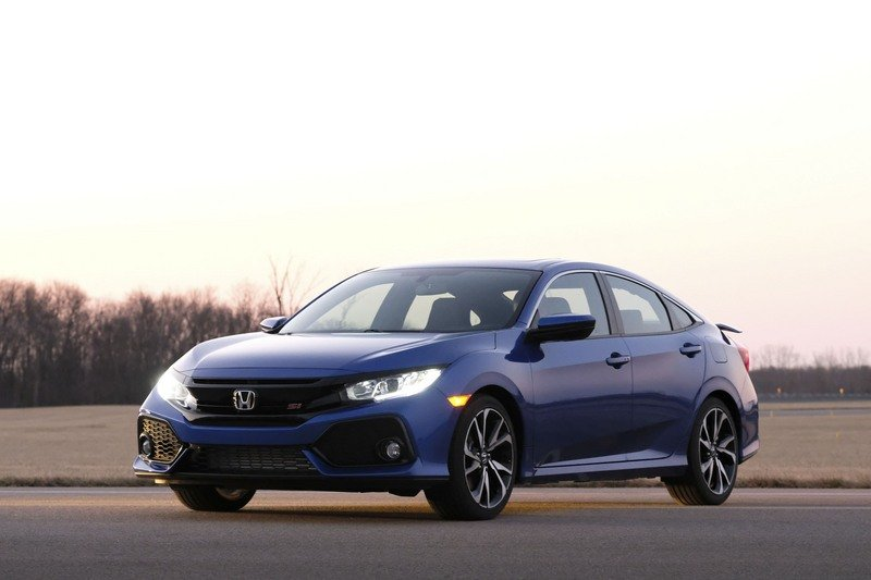 2018 Honda Civic Si Sedan High Resolution Exterior - image 712178