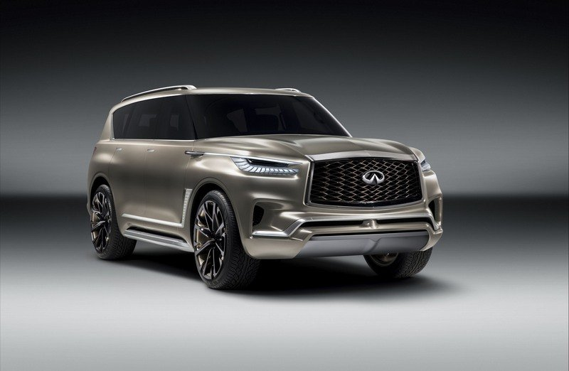 2018 Infiniti QX80 Monograph Exterior Computer Renderings and Photoshop - image 712288