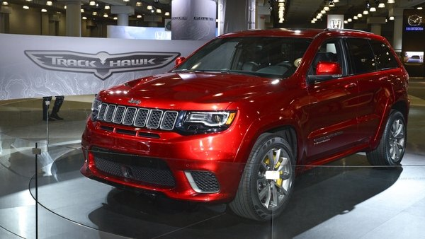 Gmc Pickup Trucks 2018 >> 2018 Jeep Grand Cherokee Trackhawk | truck review @ Top Speed