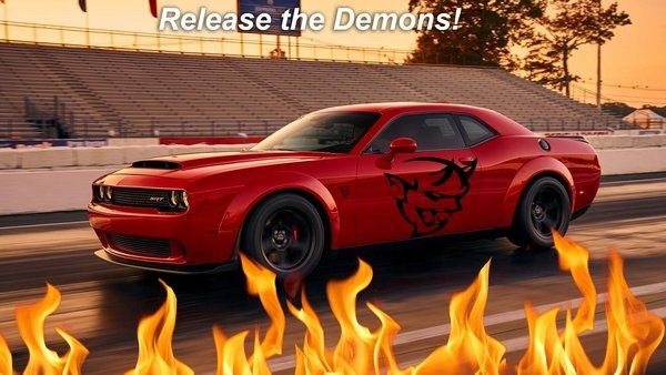 leaked could the dodge challenger srt demon really make four-figure power - DOC712622
