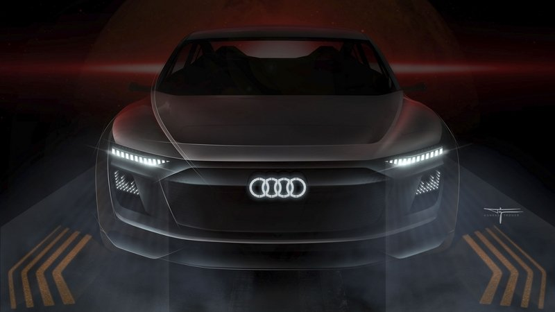 LEDs Dominate The Conversation On The Audi E-Tron Sportback Concept