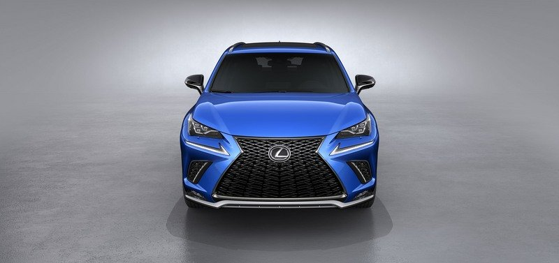 The Lexus NX Stunts on the Competition in Shanghai With a New Look