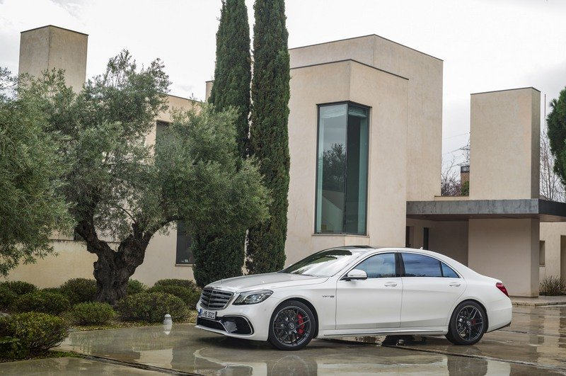 Mercedes-AMG S 63 And S 65 Updated In Shanghai; Still Silly Fast