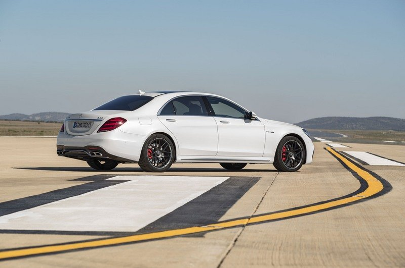 2018 Mercedes-AMG S63 High Resolution Exterior - image 713990