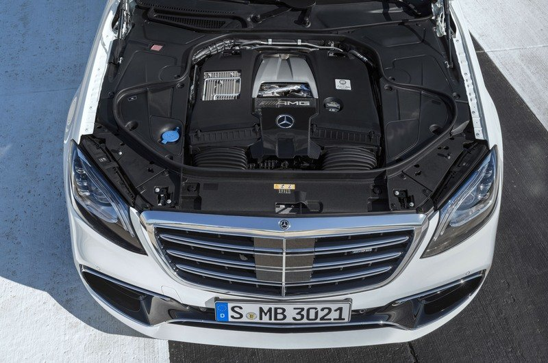2018 Mercedes-AMG S63 High Resolution Drivetrain - image 713999