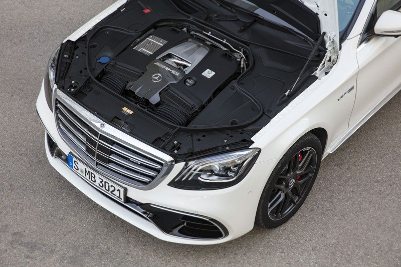 2018 Mercedes-AMG S63 High Resolution Drivetrain - image 714000
