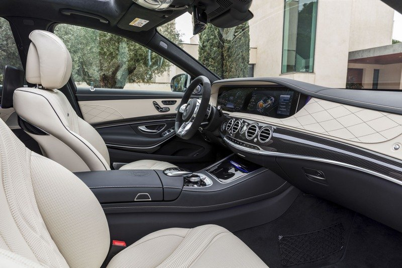2018 Mercedes-AMG S63 High Resolution Interior - image 714001