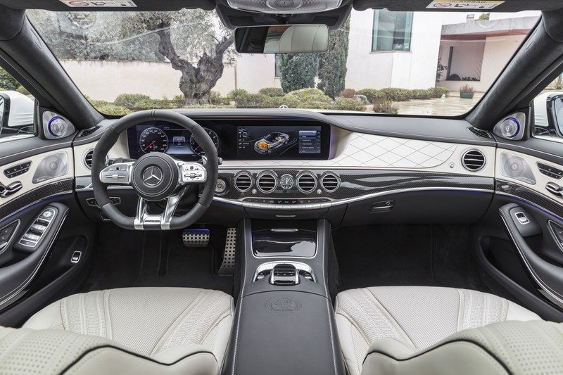 2018 Mercedes-AMG S63 High Resolution Interior - image 714002