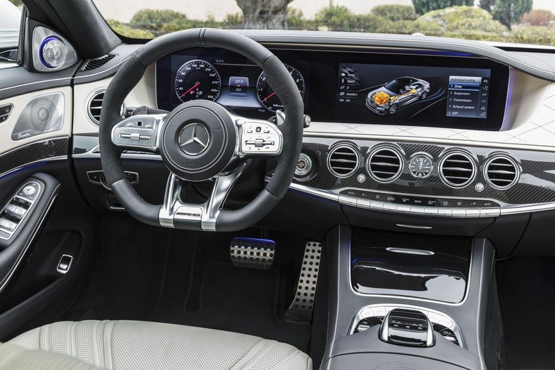 2018 Mercedes-AMG S63 High Resolution Interior - image 714003