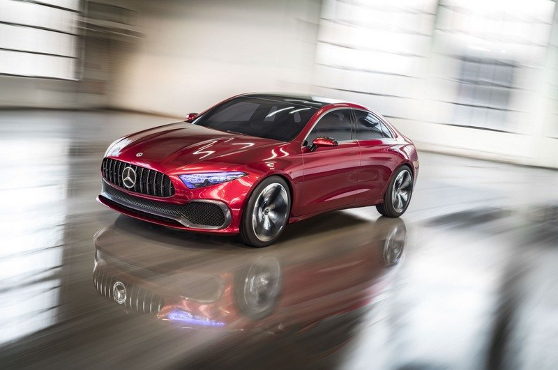 Mercedes Concept A Sedan Confirms Four-Door A-Class High Resolution Exterior - image 713899