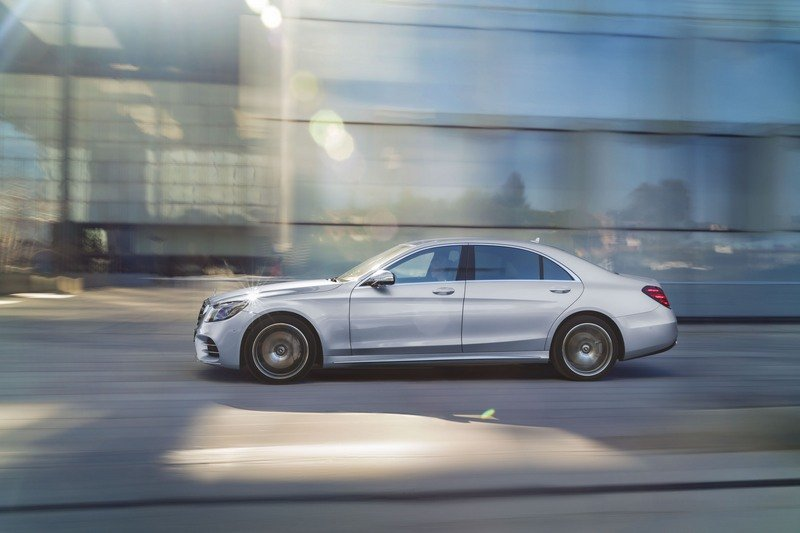 The Next-Gen 2021 Mercedes-Benz S-Class Will Feature Level 3 Autonomy High Resolution Exterior - image 713879
