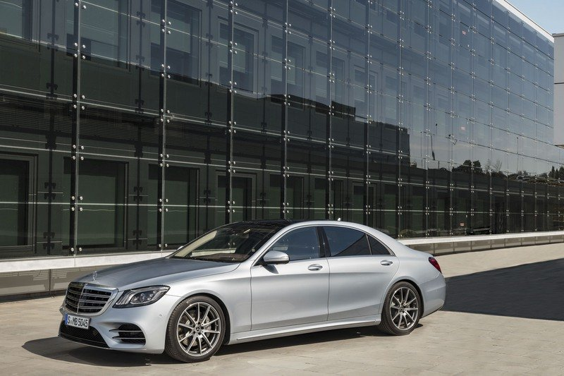 The Next-Gen 2021 Mercedes-Benz S-Class Will Feature Level 3 Autonomy High Resolution Exterior - image 713880