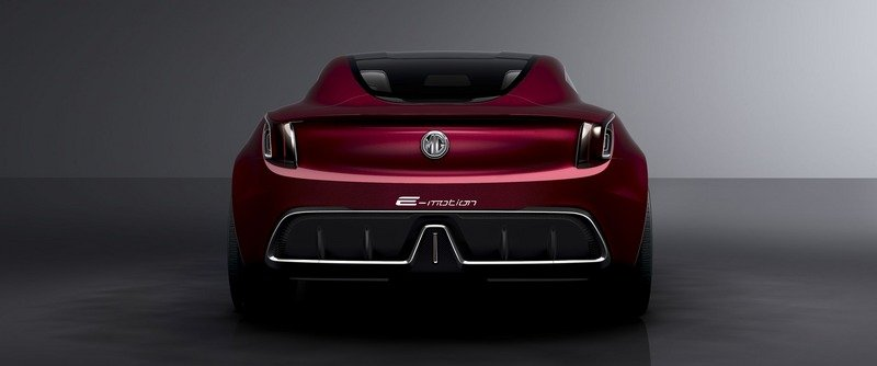 MG E-Motion Is the Company's Most Gorgeous Concept to Date