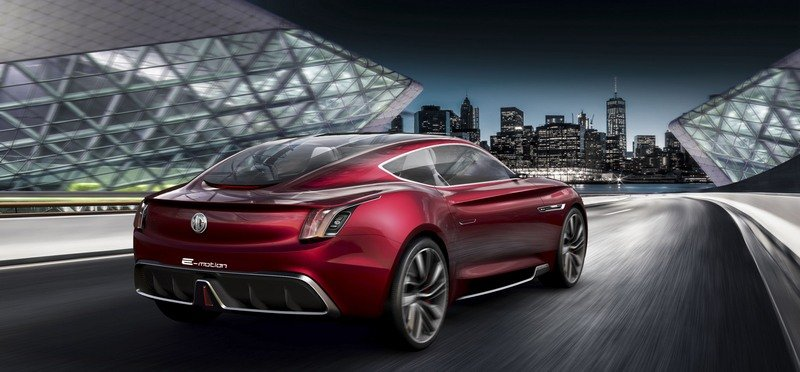 MG E-Motion Is the Company's Most Gorgeous Concept to Date Exterior Computer Renderings and Photoshop - image 714328