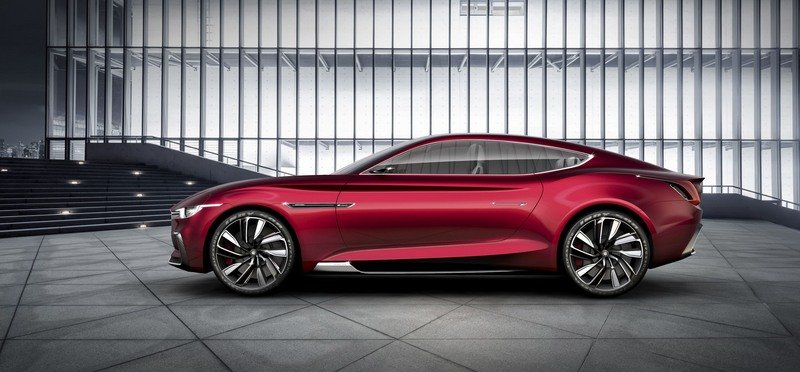MG E-Motion Is the Company's Most Gorgeous Concept to Date Exterior Computer Renderings and Photoshop - image 714330