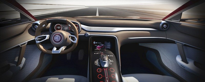 MG E-Motion Is the Company's Most Gorgeous Concept to Date Interior Computer Renderings and Photoshop - image 714334
