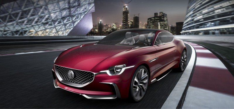 MG E-Motion Is the Company's Most Gorgeous Concept to Date Exterior Computer Renderings and Photoshop - image 714326