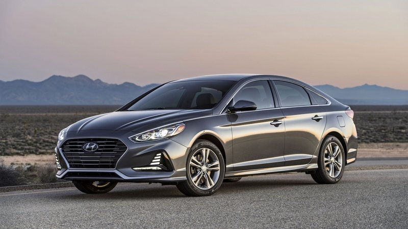 2018 Hyundai Sonata High Resolution Exterior - image 713485