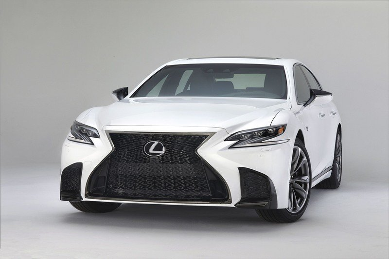 Lexus LS 500 F SPORT Makes Debut In New York