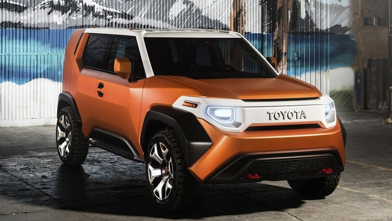 The Toyota FT-4X Is a Cool Toolbox on Wheels