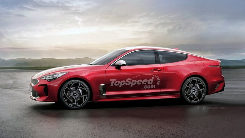 2020 Kia Stinger Coupe Exterior Exclusive Renderings Computer Renderings and Photoshop - image 712168