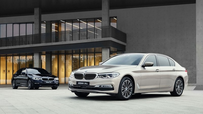 BMW 5 Series Gets Extra Large For China