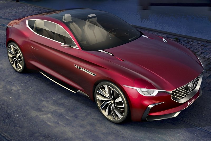 MG E-Motion Is the Company's Most Gorgeous Concept to Date Exterior Computer Renderings and Photoshop - image 714502